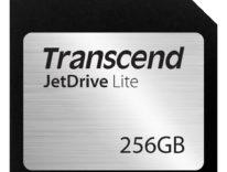 Transcend Jetdrive Lite, la scheda SD che fa da secondo disco fisso del Mac ora anche da 256 GB