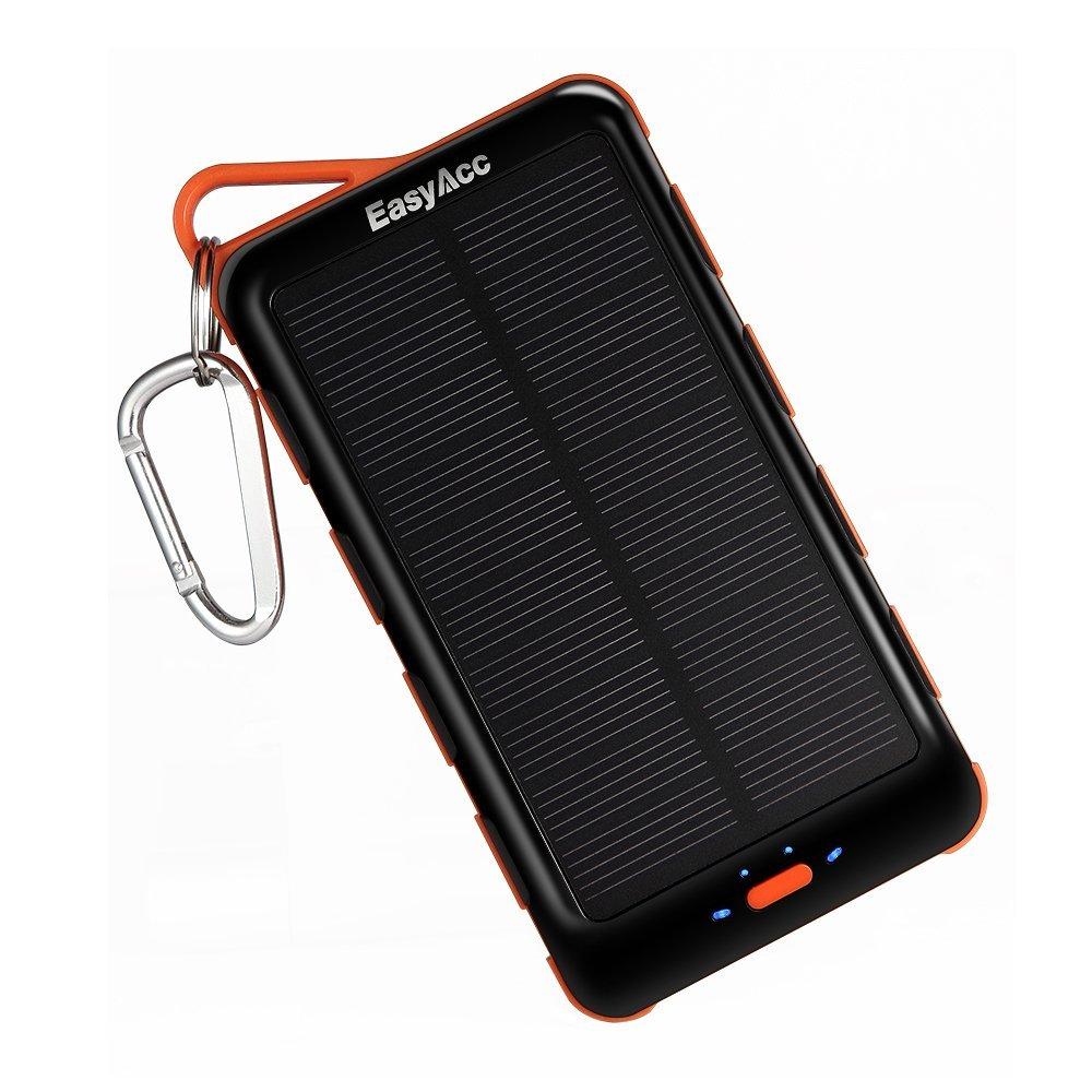 Pannello Solare Per Ricarica Batteria Barca : Recensione batteria easyacc da mila mah con pannello