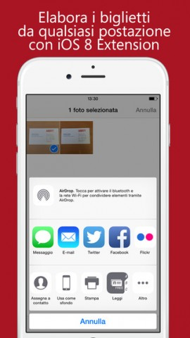 ABBYY Business Card Reader per iOS 1