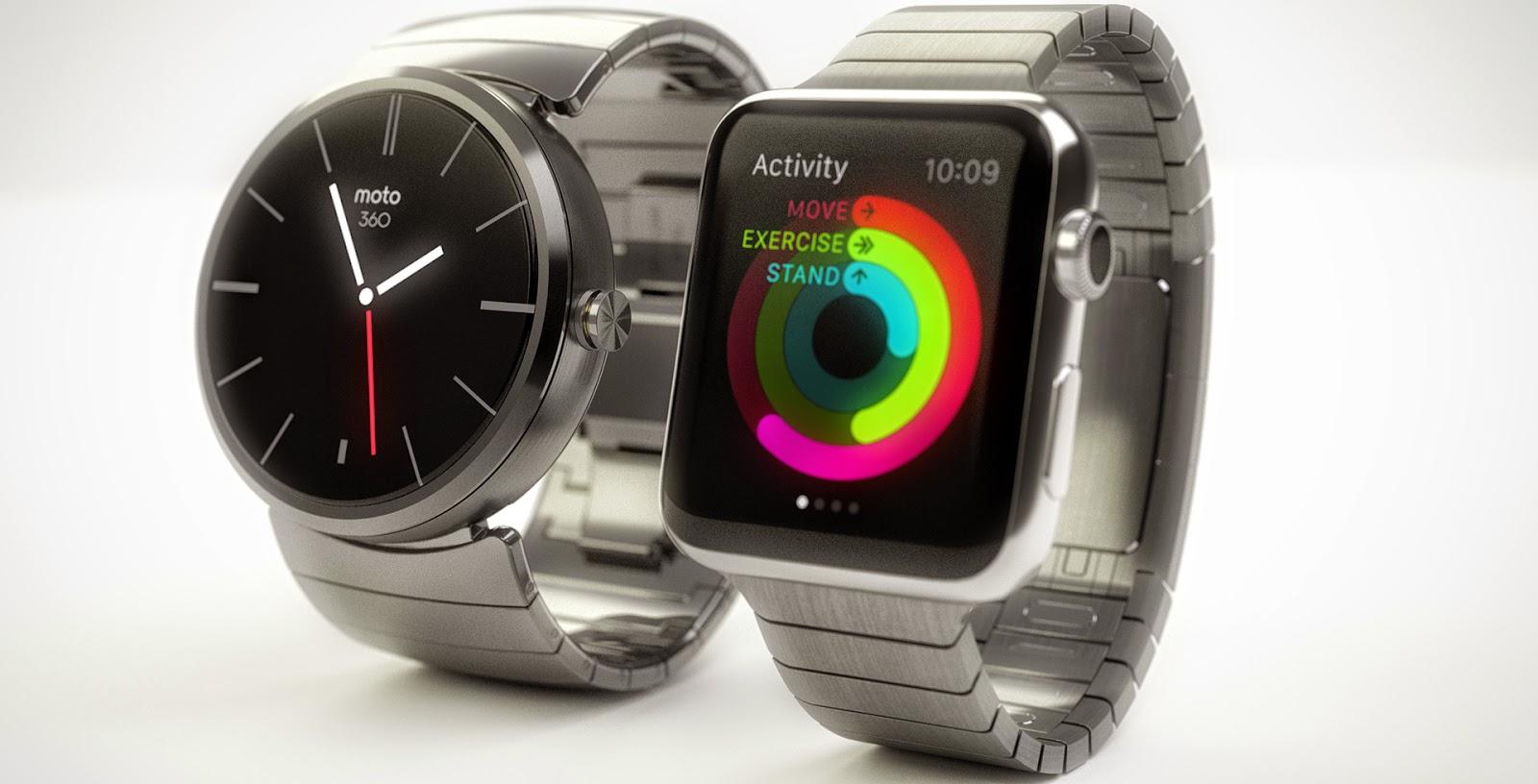 6 cose che Android Wear può fare e Apple Watch no