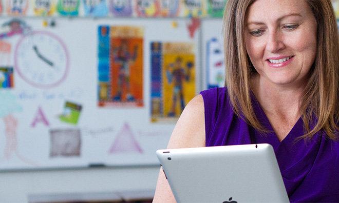 Apple e IBM insegnanti ipad scuola giovani