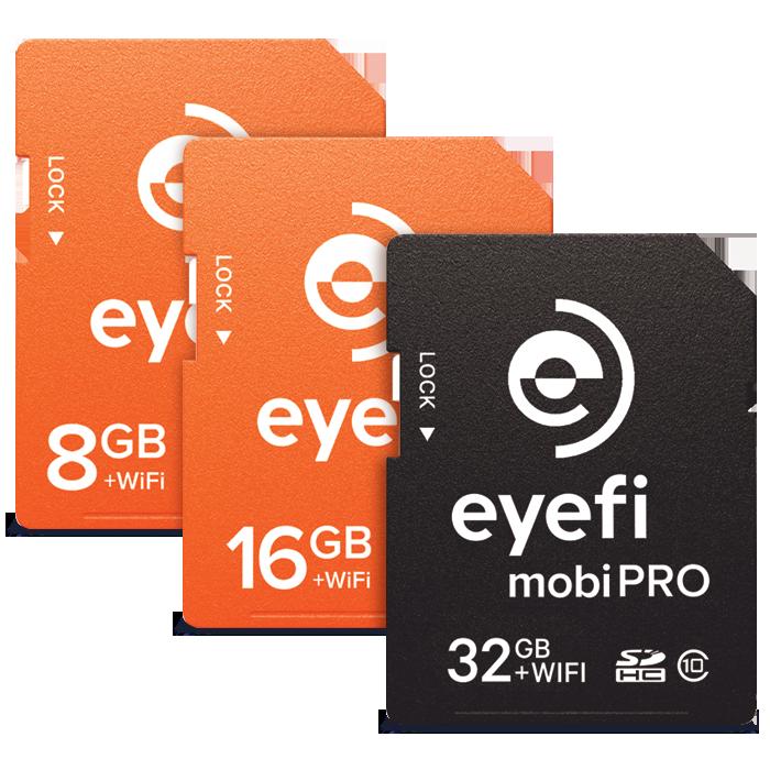Eyefi MobiPro and EyefiMobi