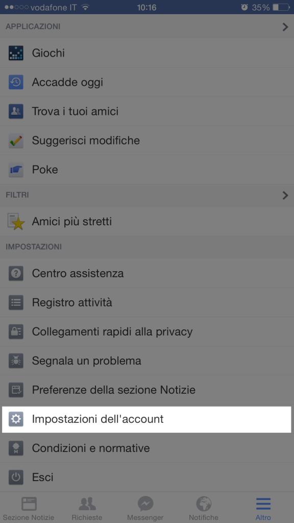 richieste di giochi su Facebook