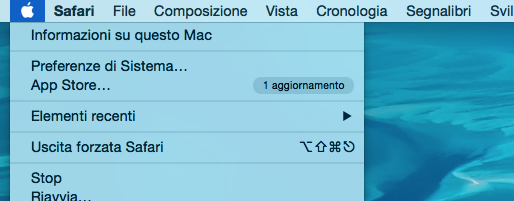 controllare spazio disponibile su Mac