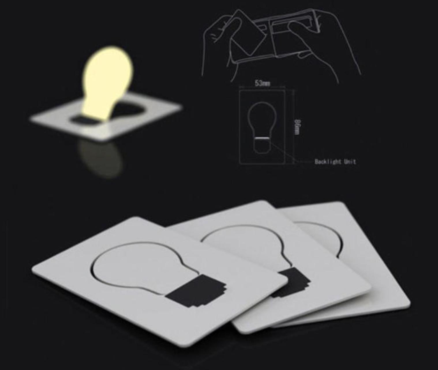 lampadina tascabile : Pocket Bulb, la lampadina che entra in un portafoglio costa solo 63 ...