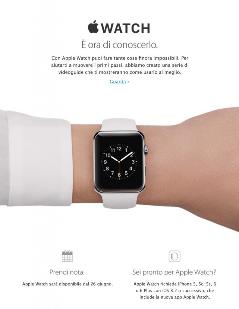 Apple Watch videoguide in italiano