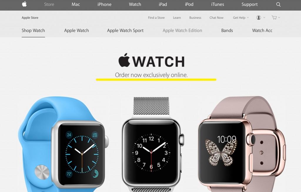 Apple Watch nei negozi