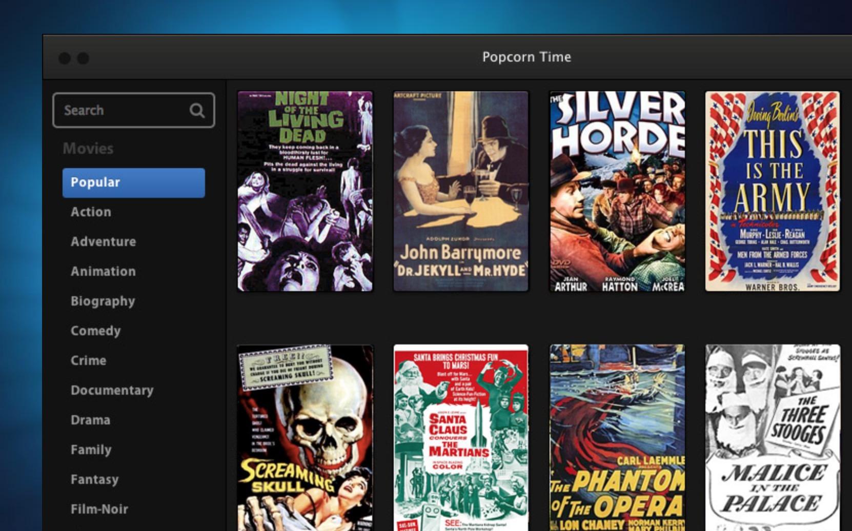 """PopCorn Time iOS, il """"Netflix pirata"""" scaricato un milione"""