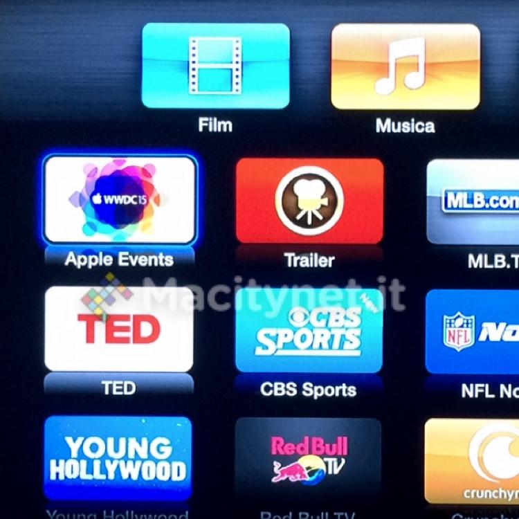 WWDC15 su Apple TV icon 700