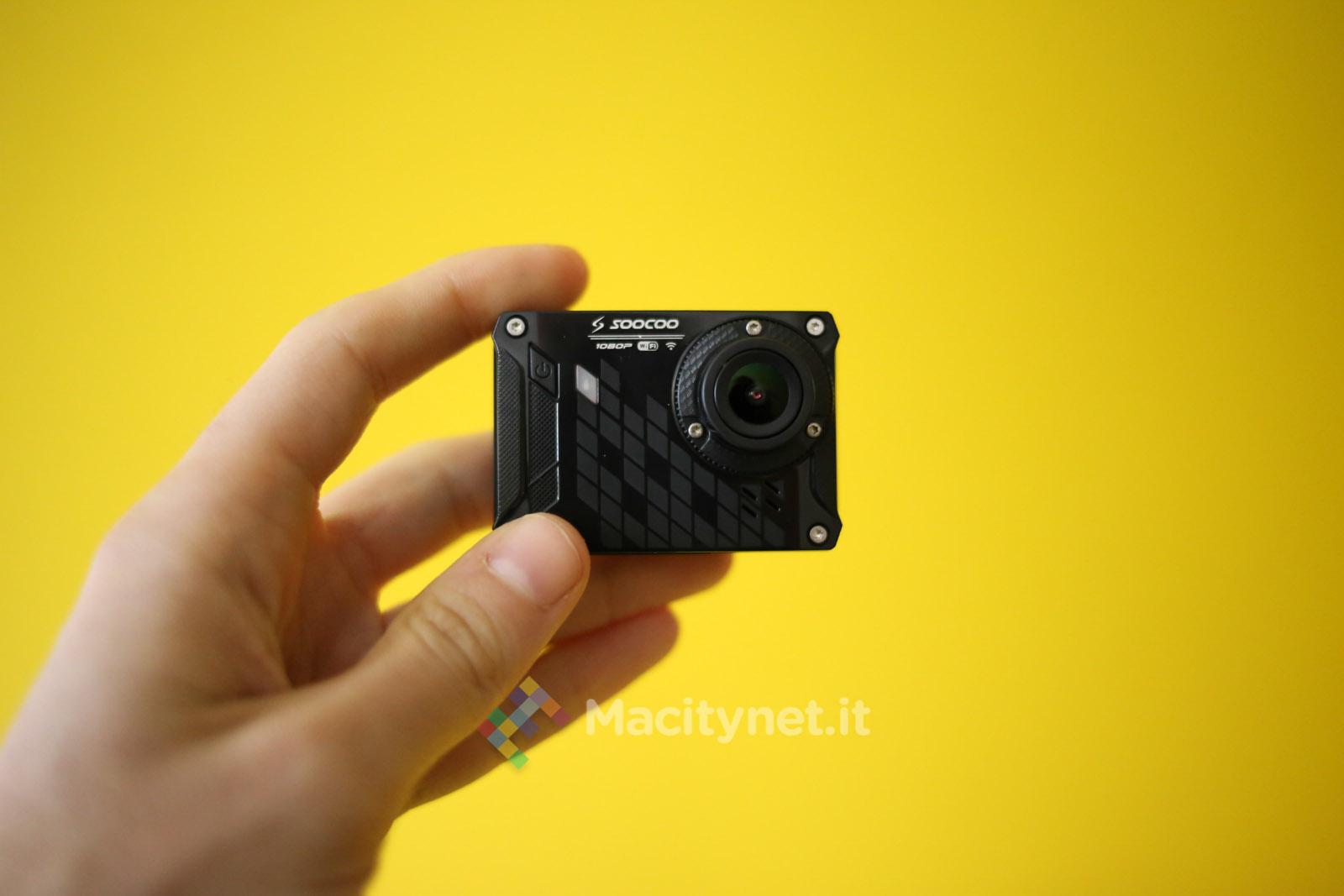 Recensione SOOCOO S33WS, action cam low cost con Wi-Fi che sfida GoPro - Pagina 3 di 3