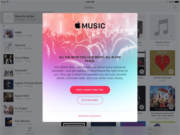 apple music ios 8.4