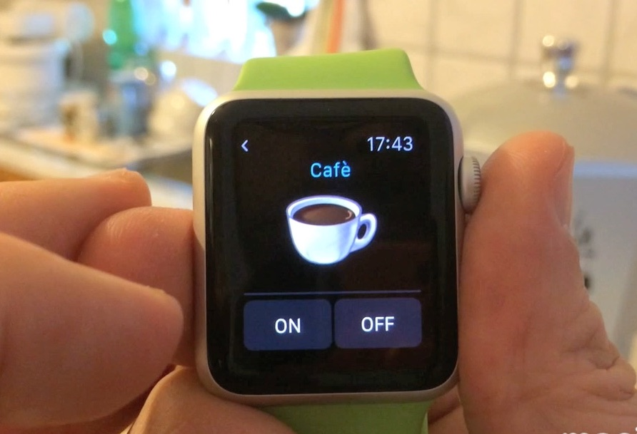 apple watch domotics