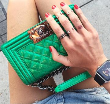 Apple Watch Al Polso Della Fashion Blogger Italiana Chiara Ferragni
