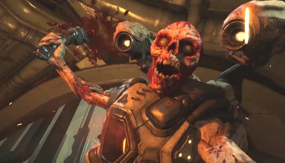 Doom, il primo video dall'E3 ridefinisce splatter e sparatutto