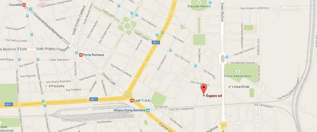 Èspero mappa 620