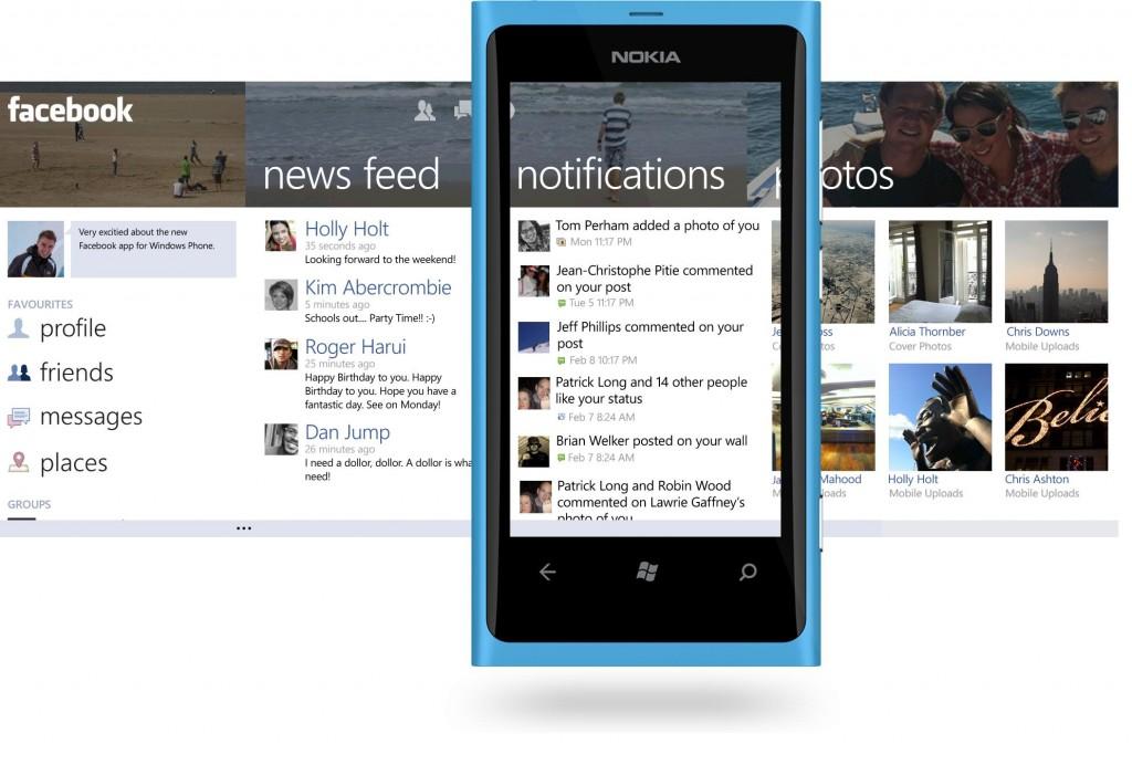 facebook su windows phone
