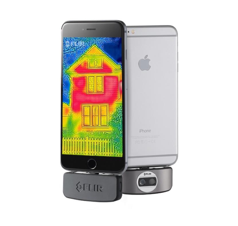 Flir One, la termocamera di seconda generazione disponibile per iPhone e iPad