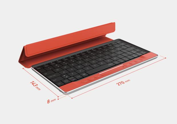 """Moky, la tastiera che dice addio al mouse e integra un trackpad """"sottocutaneo"""""""