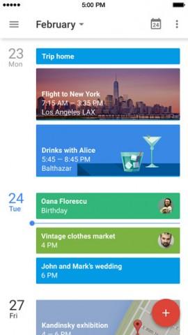 google calendar iphone 1