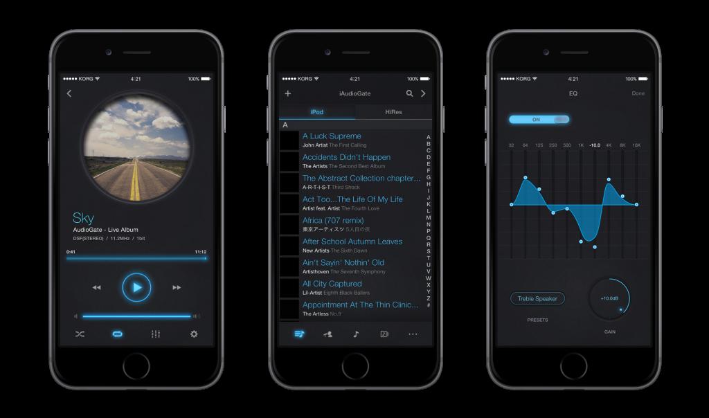 korg iAudioGate audio in alta risoluzione