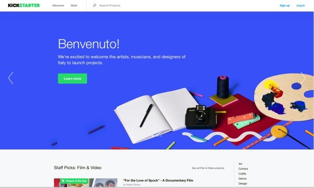kickstarter italia 620