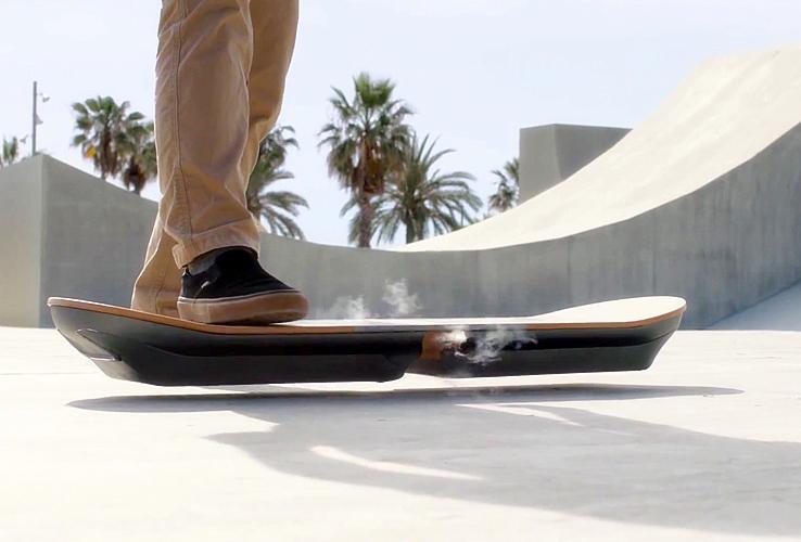 lexus hoverboard slide