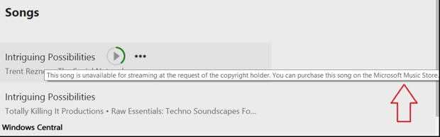 microsoft music 620