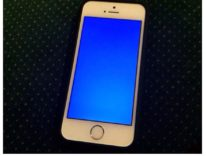 iPhone come Windows si blocca con lo schermo blu della morte