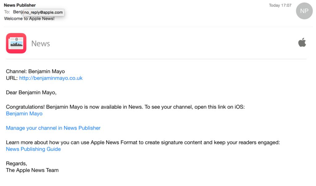 editori per Apple News