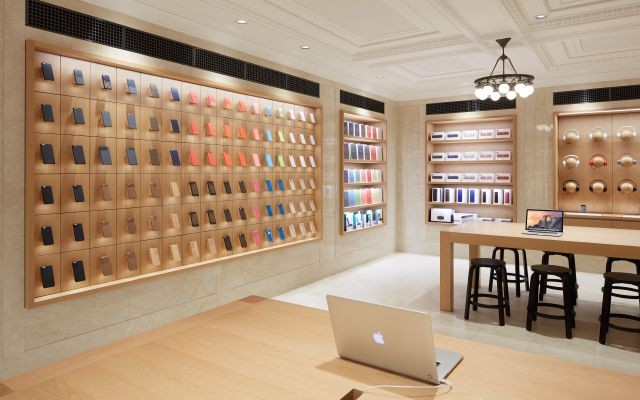 Apple Store nuovo look