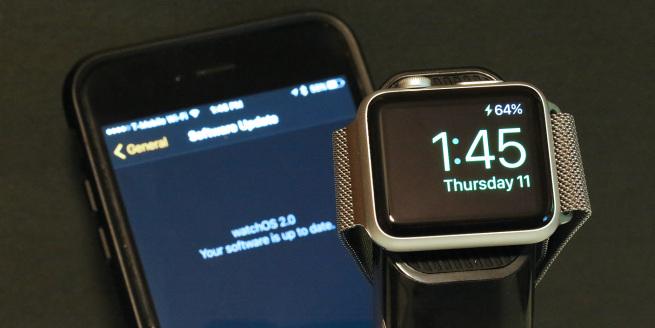 downgrade Apple Watch