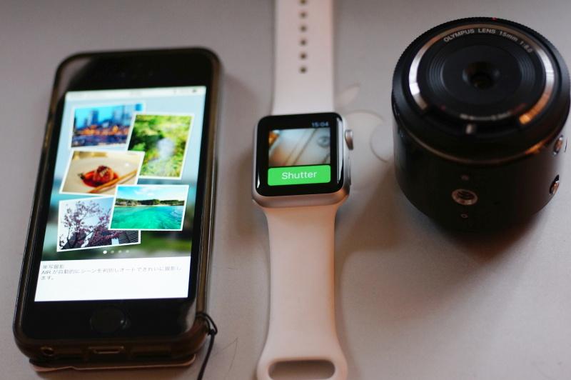 Apple watch olympus air