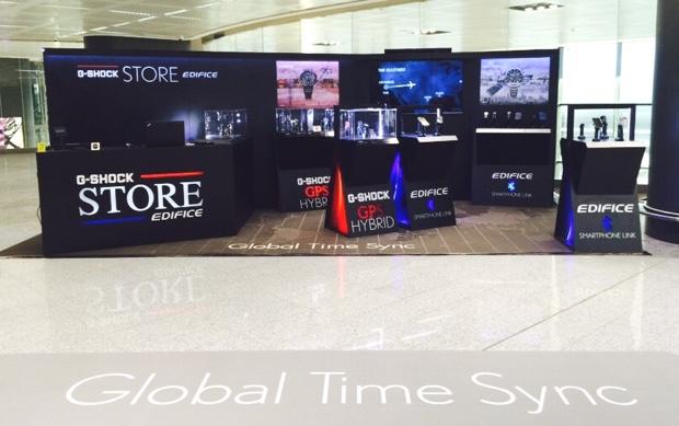 Casio_GLOBAL TIME SYNC POP UP STORE_Malpensa_1