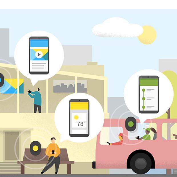 Eddystone è l'alternativa di Google alla tecnologia iBeacon di Apple