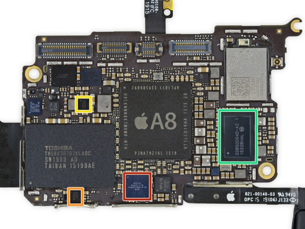 Nuovo iPod Touch smontato 6gen 620