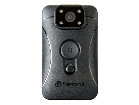 Transcend DrivePro Body 10, action camera con LED Infrarossi per forze di polizia e guardie giurate