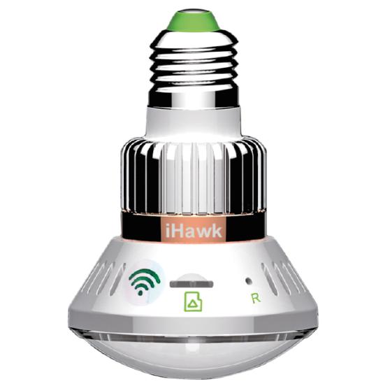 Telecamera HD iHawk Wi-Fi in una lampada LED da 3W controllabile da smartphone - Macitynet.it
