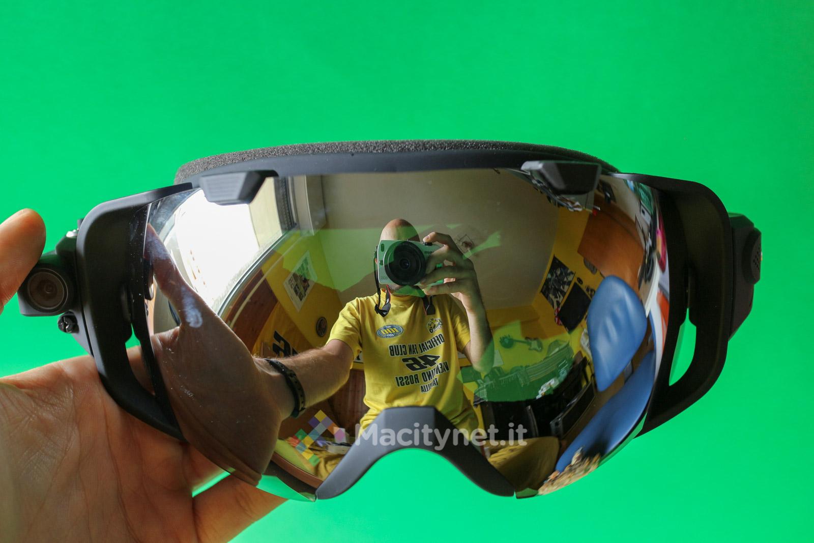 Recensione Mediacom SkiMask HD, la maschera da snowboard con action camera integrata