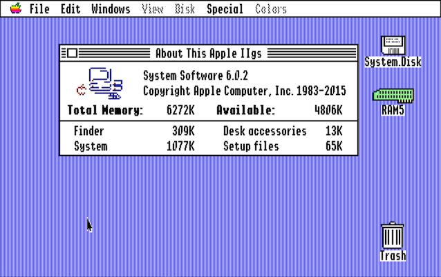 Il Sistema Operativo DellApple IIGS Aggiornato Dopo 22 Anni