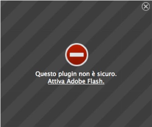 firefox blocca flash icon 500
