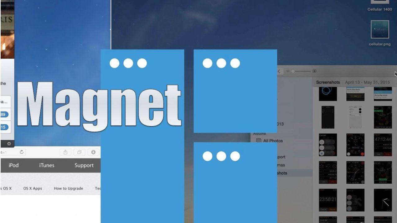 Magnet, domare le finestre del Finder e di tutte le app su
