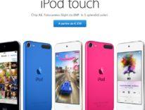 Nuovo iPod touch 6g con processore A8: è più lento di iPhone 6