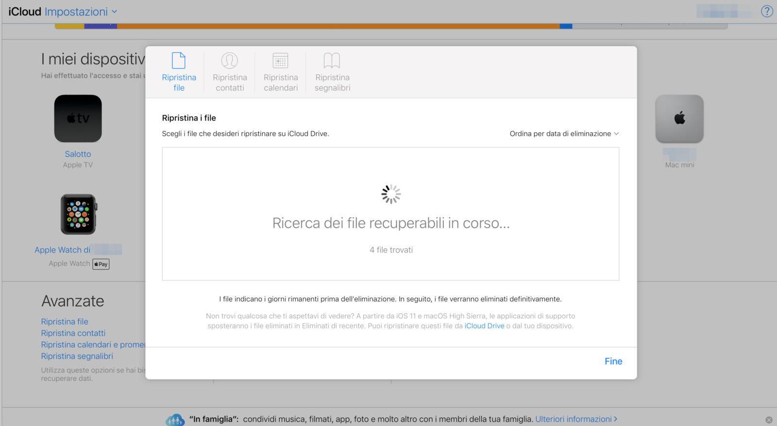 Come Recuperare File Cancellati Da Icloud Drive