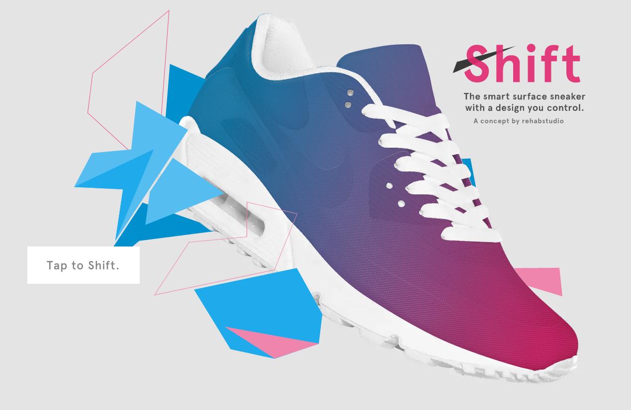 Le vostre scarpe cambieranno via smartphone for Adidas che cambiano colore