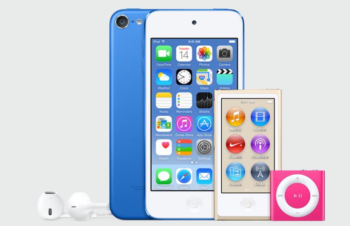 nuovi ipod 2015