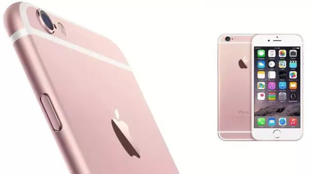 iPhone 6S in oro-rosa