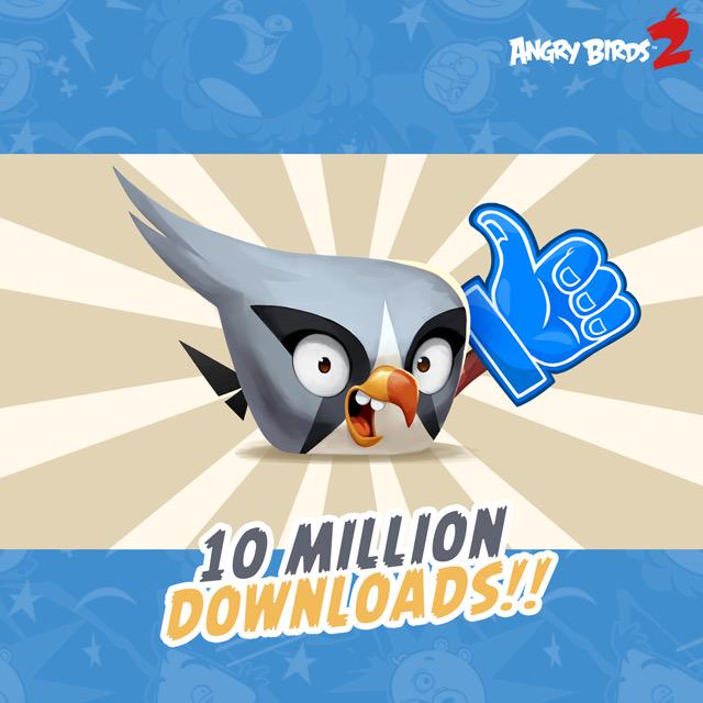 Angry Birds 2 10 milioni