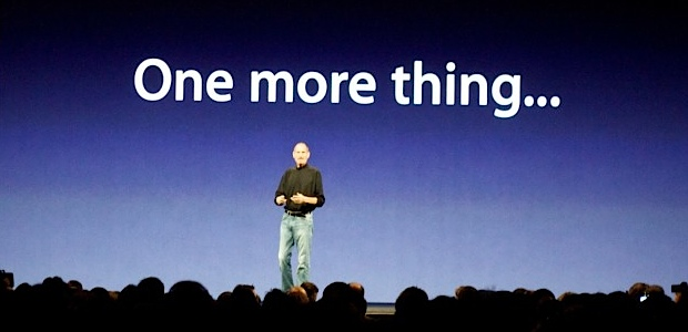 Keynote One more thing Steve Jobs