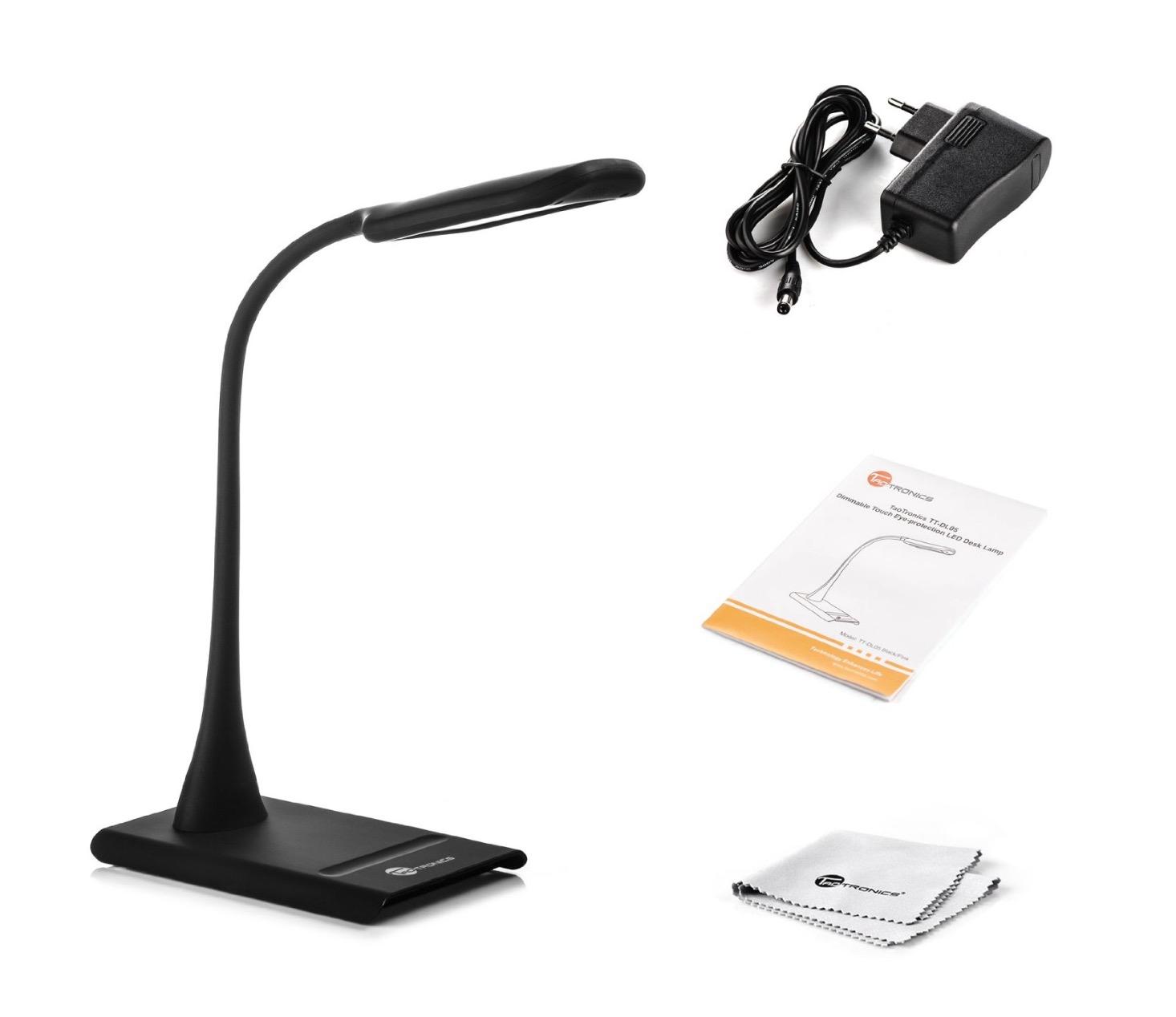 Lampada led da scrivania con controlli touch solo per for Lampada led da scrivania