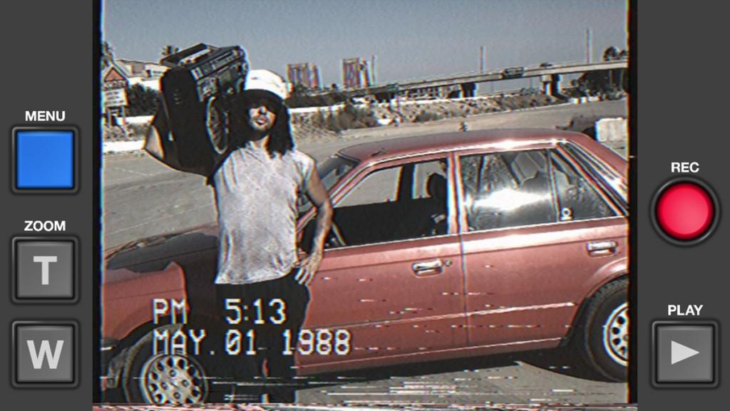 Ripresa simulata in vhs con VHS Camcorder